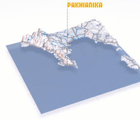 3d view of Pakhiánika