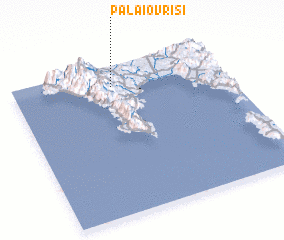 3d view of Palaióvrisi