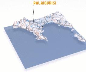 3d view of Palaióvrisi