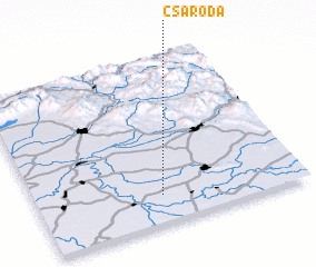3d view of Csaroda