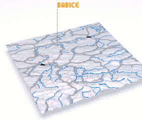 3d view of Babice