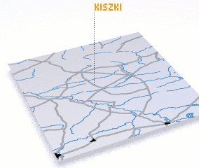 3d view of Kiszki