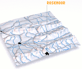 3d view of Rosemoor