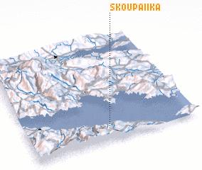 3d view of Skoupaíika