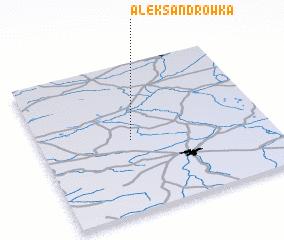 3d view of Aleksandrówka