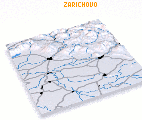 3d view of Zarichovo
