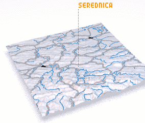 3d view of Serednica