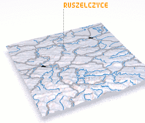 3d view of Ruszelczyce