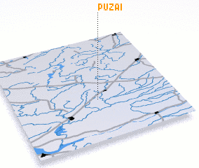3d view of Pužai