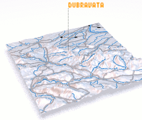 3d view of Dubravata