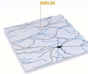 3d view of Bedlno