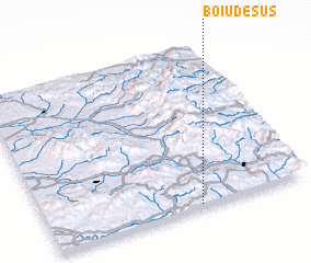 3d view of Boiu de Sus