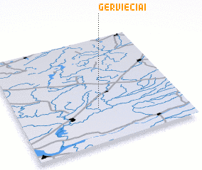 3d view of Gerviečiai
