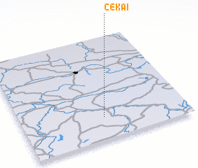3d view of Čekai