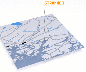 3d view of Strömmen