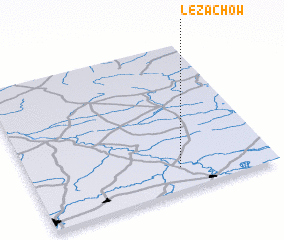 3d view of Leżachów