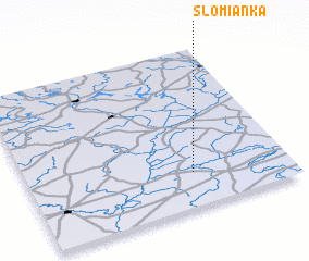 3d view of Słomianka
