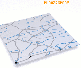 3d view of Ruda Zagrody
