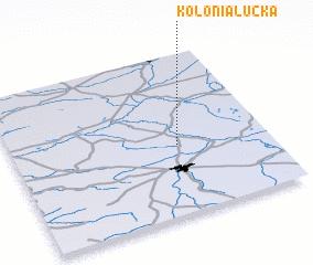 3d view of Kolonia Łucka