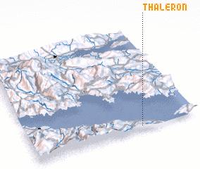 3d view of Thalerón
