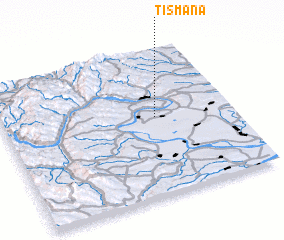 3d view of Tismana