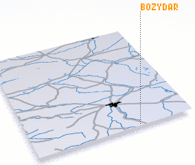 3d view of Boży Dar