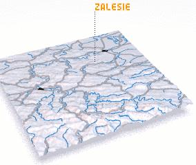 3d view of Zalesie