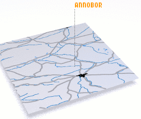 3d view of Annobór