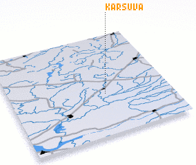 3d view of Karšuva