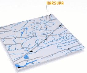3d view of Karšuva