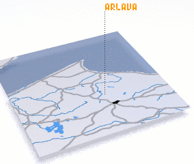 3d view of Ārlava