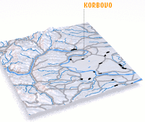 3d view of Korbovo