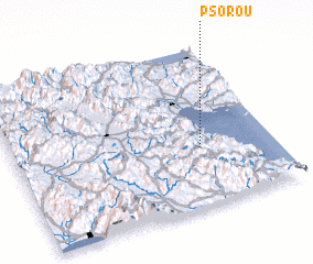 3d view of Psoroú