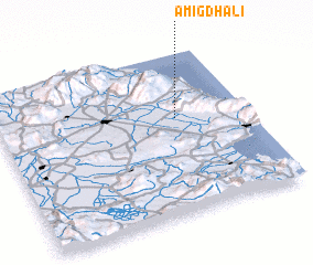 3d view of Amigdhalí