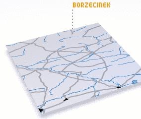 3d view of Borzęcinek