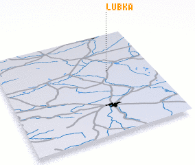 3d view of Łubka