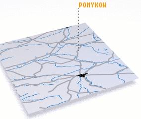 3d view of Pomyków