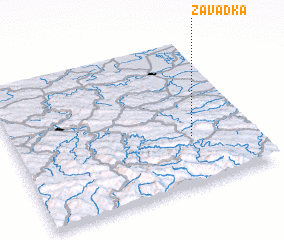3d view of Zavadka