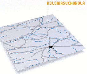 3d view of Kolonia Suchowola