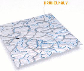 3d view of Kruhel Mały