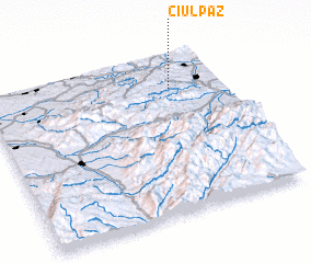 3d view of Ciulpăz