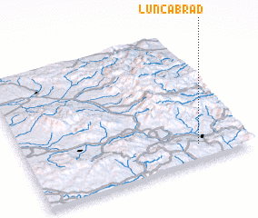 3d view of Lunca Brad