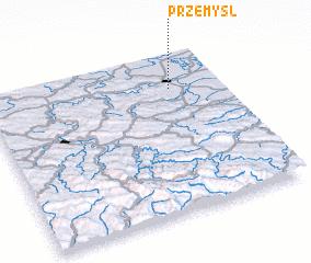 3d view of Przemyśl