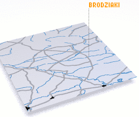 3d view of Brodziaki