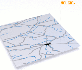 3d view of Mełgiew