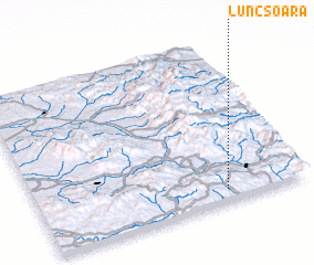 3d view of Luncşoara