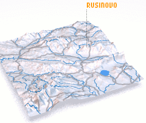 3d view of Rusinovo
