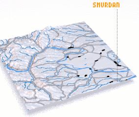 3d view of Smŭrdan