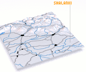 3d view of Shalanki