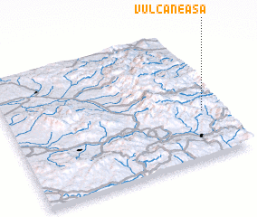 3d view of Vulcăneasa